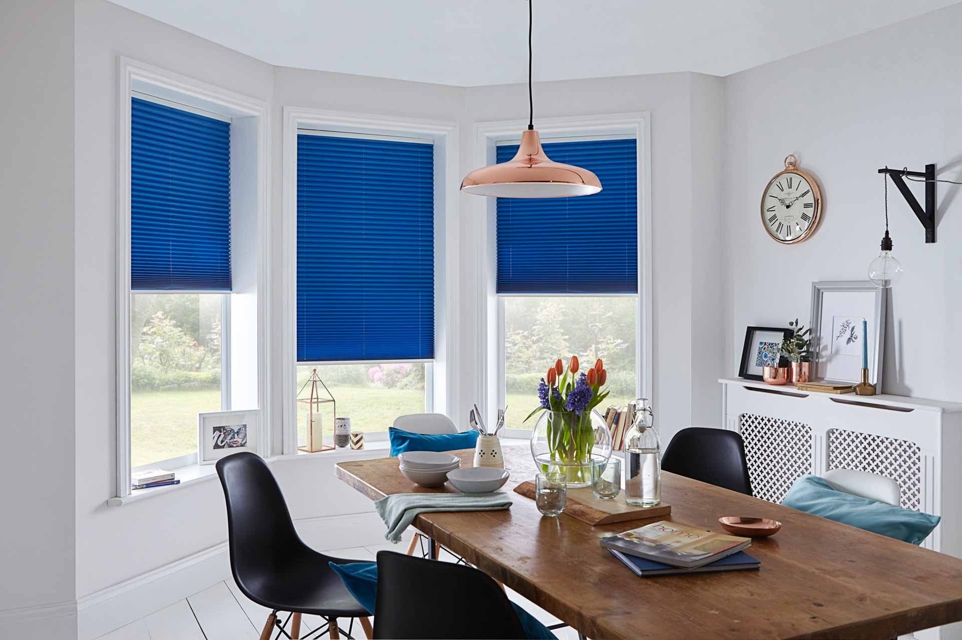Pleated blinds image