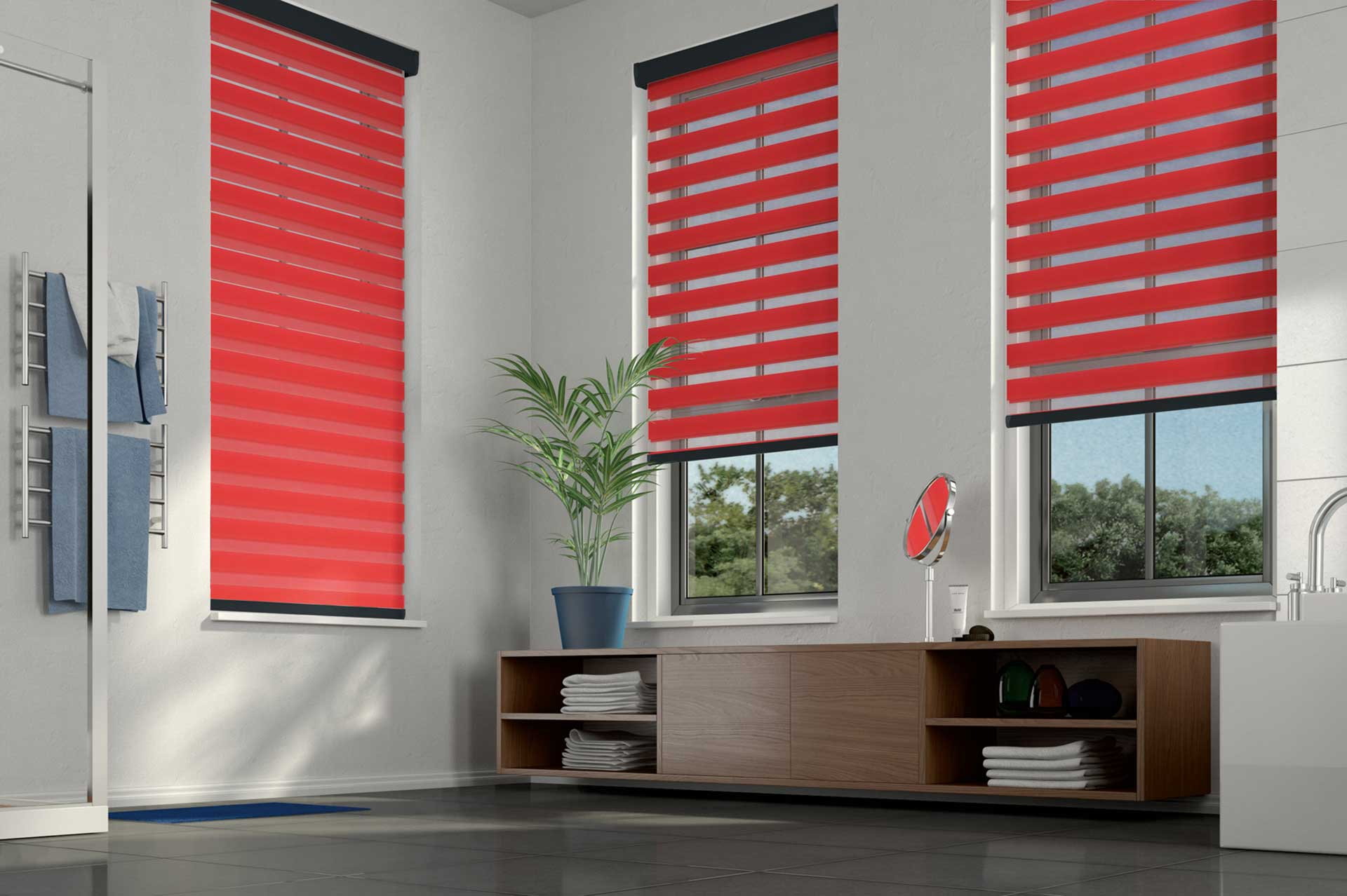 Fabric Roller Blinds image